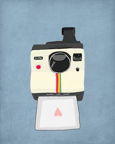 8 x 10 print  retro camera by Candidate on Etsy, $23.00