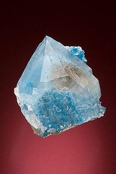 Quartz with Shattuckite inclusions - Namibia