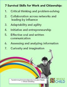 "Educators are up against a global achievement gap, Tony Wagner explained in his 2014 ASCD Annual Conference session, ""Graduating All Students 'Innovation Ready."" This post describes seven essential skills for students."