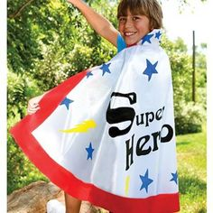 How cool is this!!! I was so excited to find this because it's a great price and a great craft! Better than Oriental Trading superhero capes in price! It will go great with our Heaven Bound Heroes of Faith theme this year! I'm excited!!!