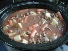 Crock Pot Ground-Beef Stew
