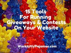 15 Tools to Run a Giveaway