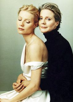 Daughter and Mother: Gwyneth Paltrow and Blythe Danner, by Annie Liebovitz