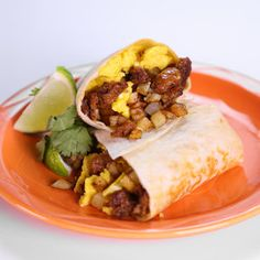 Breakfast Burrito Michael Symon