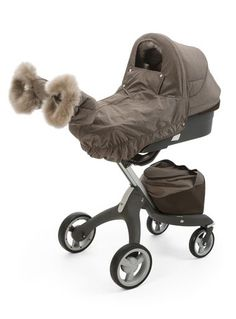 Chill in the air? Stokke® Xplory® Winter Kit is the perfect stroller accessory to protect your child this winter.