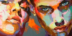 Francoise Nielly painting