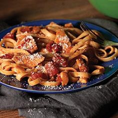 Chicken-Parmesan Pasta Toss Recipe from Kraft