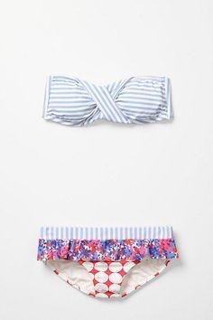 bath suit, mix match, style, swimsuit, bikinis, anthropologie, mixed prints, swim suit, summer