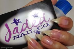 Sassy Paints: Pink Citrus Polish Remover from the Breast Cancer Awareness Box by Polish TBH & Jaded Nail Co.