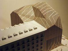 Architectural Model - Terminus Hotel