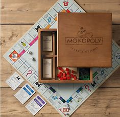 Vintage Edition Monopoly $74