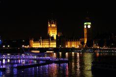 Big Ben by night, London, UK