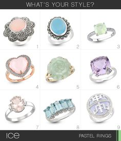 Which pastel ring is your fave?