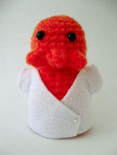 #amigurumi #crochet #zoidberg