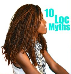 Loc Myths natur hair, gorgeous hair