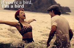if your a bird, im a bird