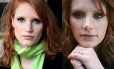 The gorgeous red-heads stars in The Help, Jessica Chastain & Bryce Dallas Howard. They look like twins!