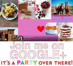 Join me on Google+   https://plus.google.com/u/0/116988648060885132599/posts/p/pub   FamilyFreshCooking.com