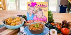 Lilly & Audrey Andrews | White Bean & Quinoa Chili with Parmesan Veggie Drop Biscuits | Home & Family on Hallmark Channel