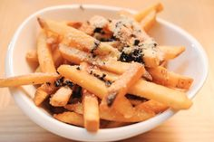 Tanjong Beach Club Truffle Fries