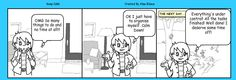 A comic showing your emotions. Fun and easy with Make Beliefs Comix