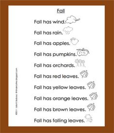 Spanish and English student printable to practice word identification, one to one correspondence, using picture clues, sight word practice and much more. In this printable, students must also be able to read the color words to fill in the leaves with the appropriate color.