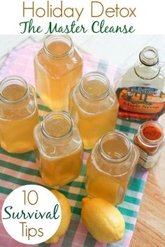 Tips & Recipe for Master Cleanse :: Blooming on Bainbridge