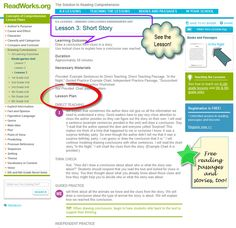 Free Common Core Lessons & Mentor Text Suggestions