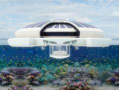 Solar Floating Resort by Michele Puzzolante » Yanko Design