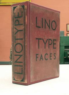 Catalog Linotype Faces