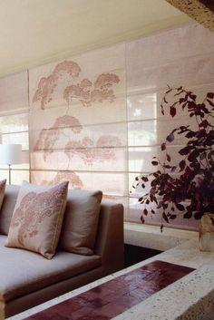 fabric Japanese tree from Timourous Beasties