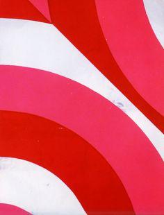 #yearofpattern florence broadhurst, counterchange wallpaper