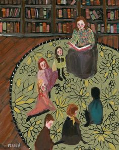 The Library - Jennifer Pease