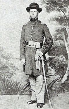 Luther Martin 11TH NJ INFANTRY  BURIED IN HILLSIDE NJ KIA AT GETTYSBURG ON JULY 2 1863
