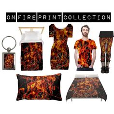 Dark grunge explotion flame texture in saturated orange and black printed outfit collection ideal por people who loves dark or for next halloween.  outfit, halloween outfit,printed outfit, on fire outfit, dark print outfit, abstract outfit, texture outfit, orange and black outfit, outfit for women, halloween gifts, unique outfit, art print outfit