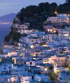 Capri, Italy... Where the windy roads lead to breathtaking views.