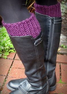 Lacy Crochet: My New Warm and Comfy Boot Inserts ~ free instructions