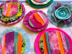 HANDMADE holiday fabric garland tutorial by Traci Bautista