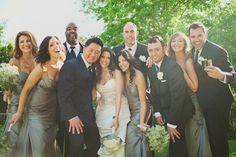 Bridal Party by Heather Armstrong Photography