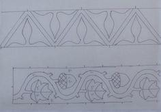 Medieval Arts & Crafts: Klosterstich cuffs art crafts, embroideri pattern