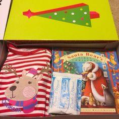 Christmas Eve Pajama Box