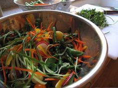 Camp Food: Soba Noodle Salad