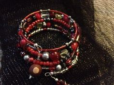 Ohio State Memory Wire Bracelet!