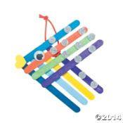 Color Fish Craft Sticks Craft Kit