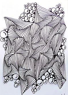 Sea shells and kissing circles!