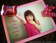 more cute valentines! snicker