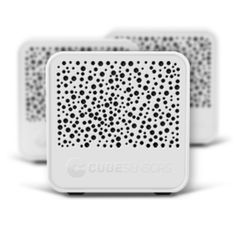 CubeSensors - take accurate readings of the environment, from air pressure, ambient noise volume, light intensity and pollution levels. With these readings the cube is able to suggest optimum conditions for ensuring productivity, comfortable sleep and generally improving indoor living environments.