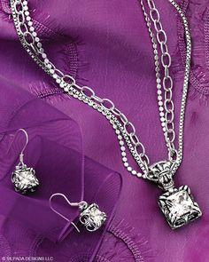 Jewelry by Silpada Designs.