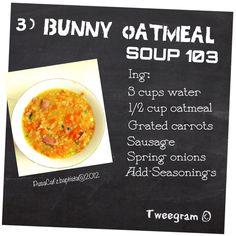 Irish Oatmeal Soup | Oatmeal Recipes | Pinterest
