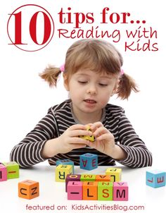 10 tips for reading with kids - reading readiness